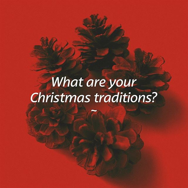 Merry Christmas Eve!  What are your Christmas traditions? Do you do Christmas dinner? Christmas lunch? Christmas Eve dinner? …