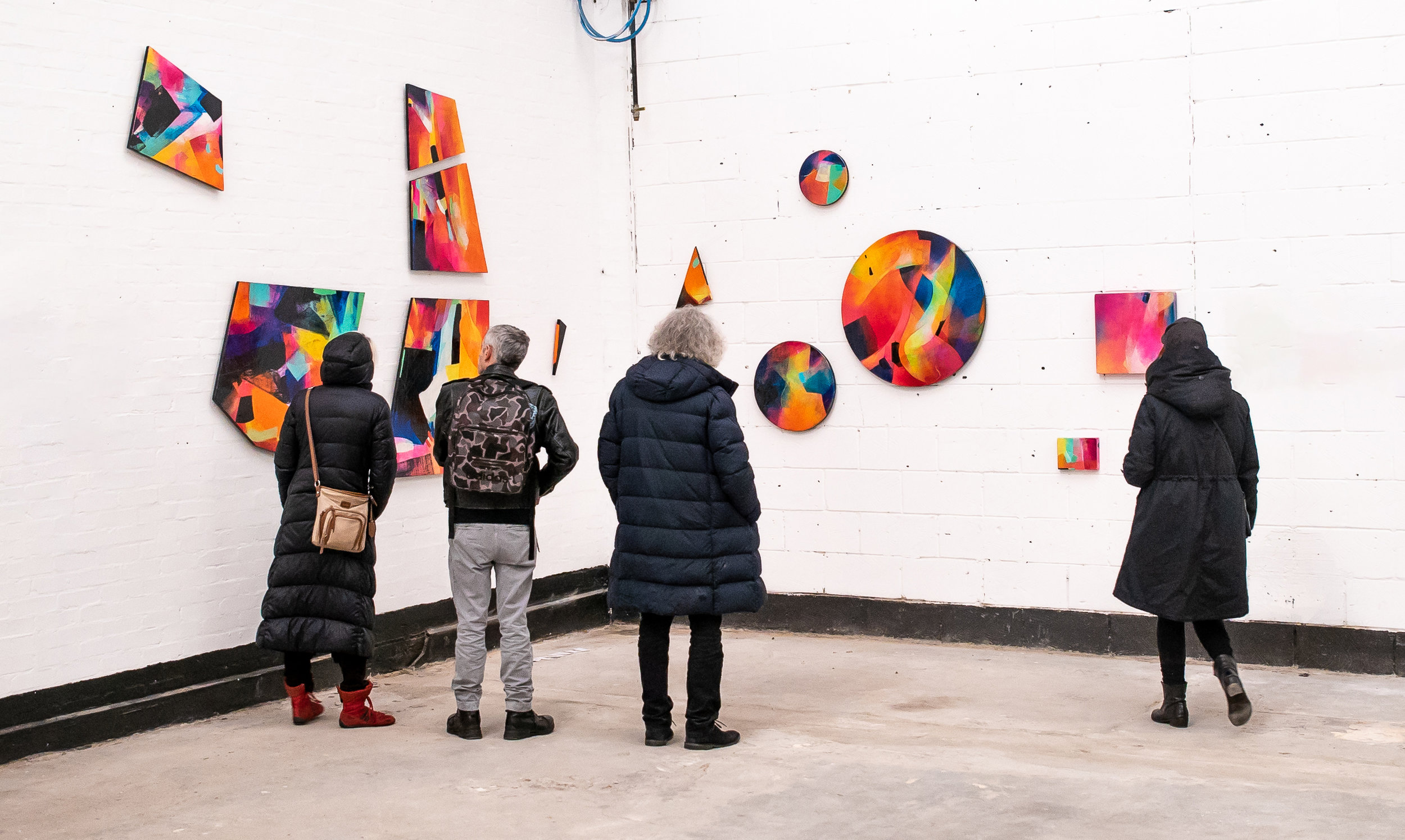 Installation at How do you see, What do you feel? Exhibition. Arena Design Centre, London, 2019 (Photo: @dcostafilms)
