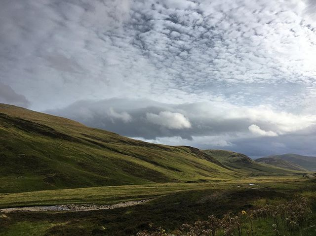 Back in the highlands. What a beautiful corner of the world