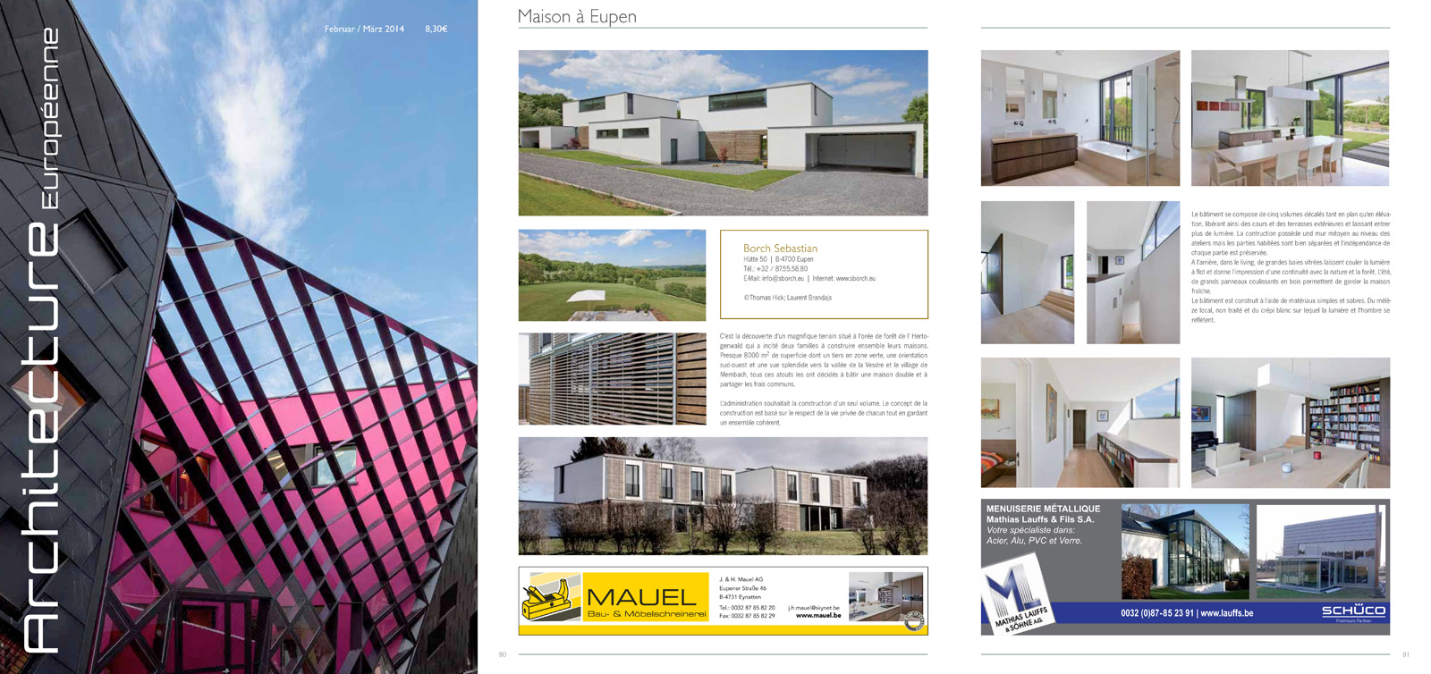 ARCHITECTURE EUROPEENE - 02/2014