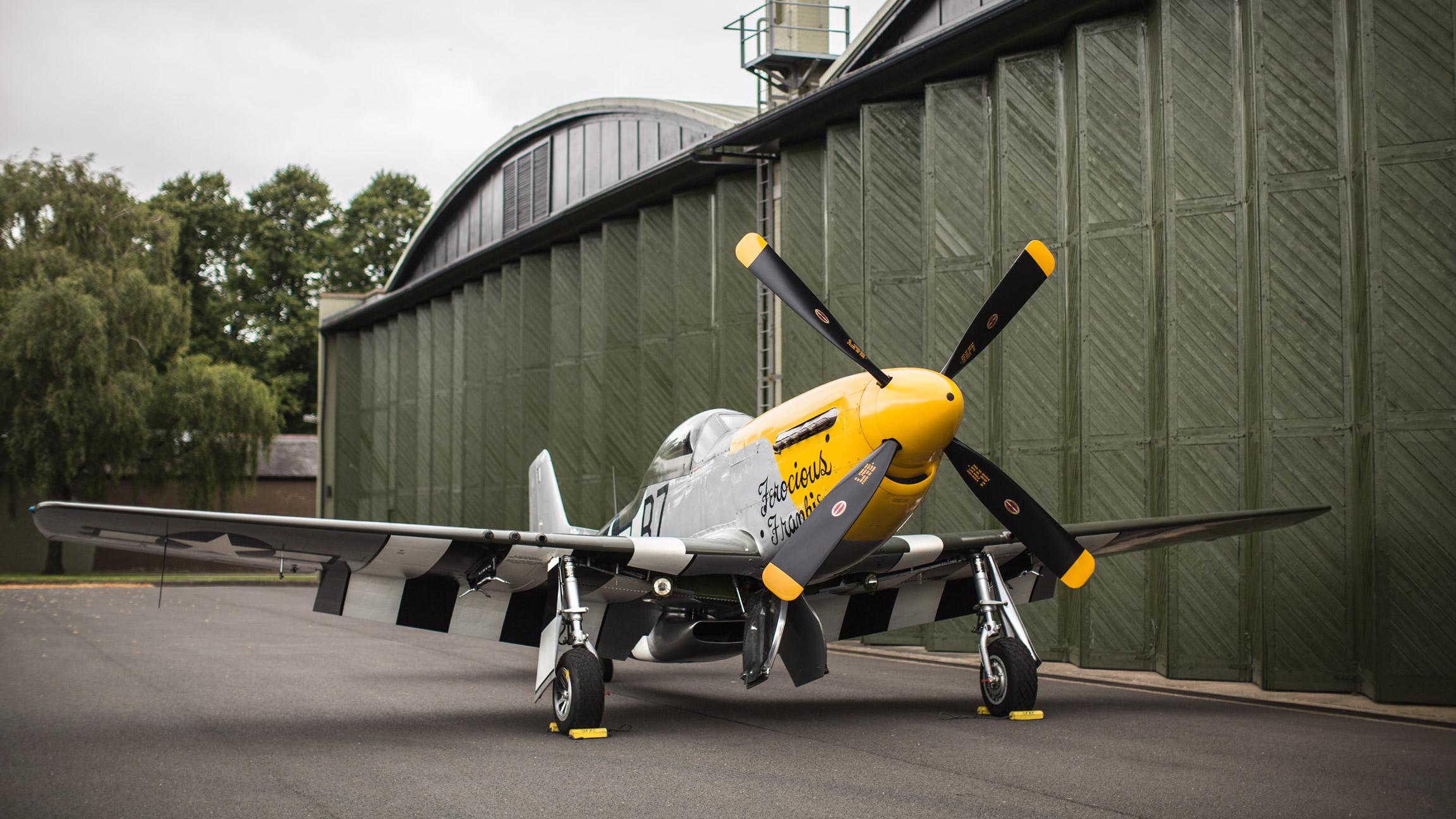 P-51D 'Ferocious Frankie' (sold) -