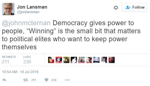 Jon Lansman, Chair, Momentum