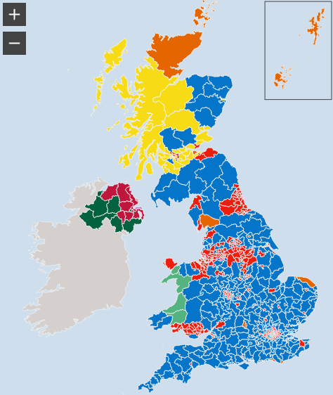 GE2017 results seat map
