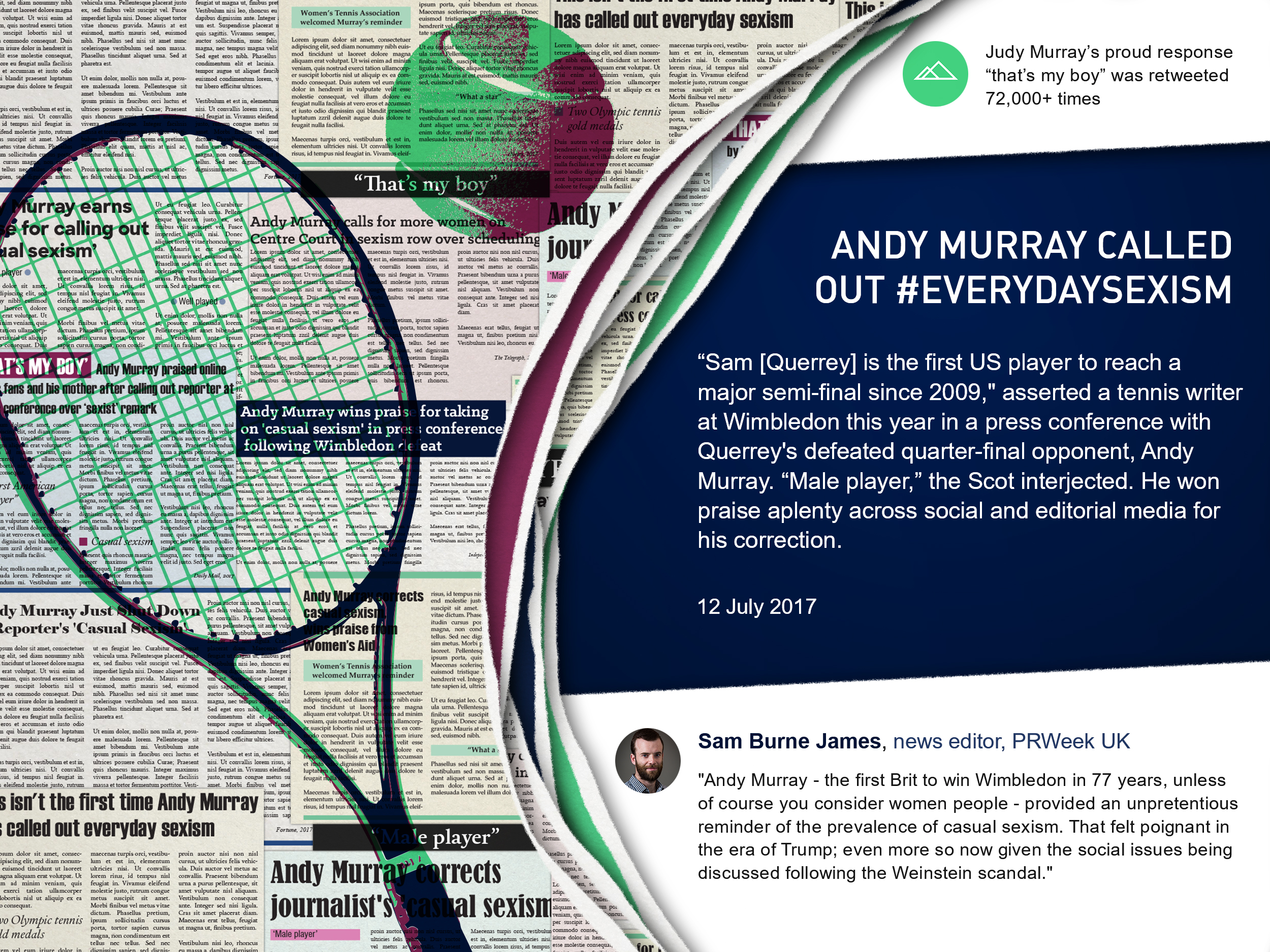 Andy Murray everyday sexism
