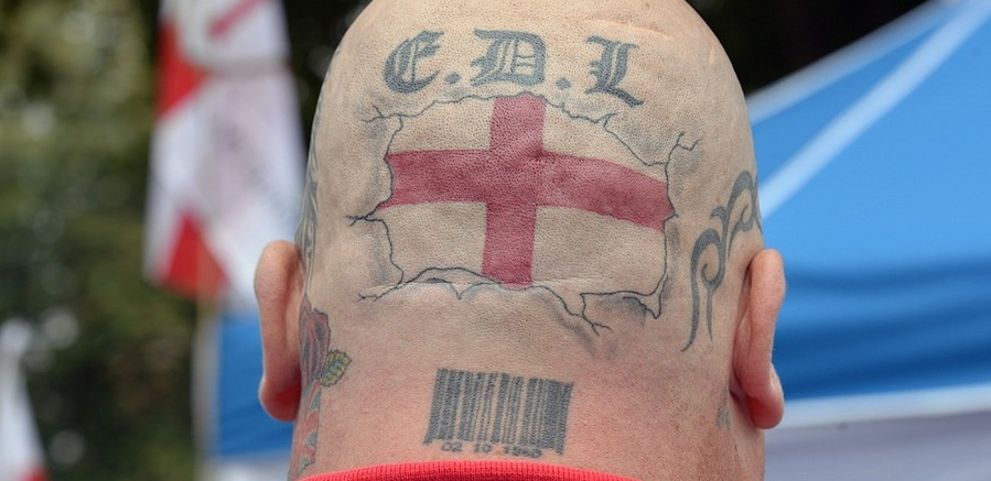 A committed English Defence League member