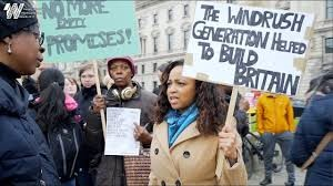Windrush protesters