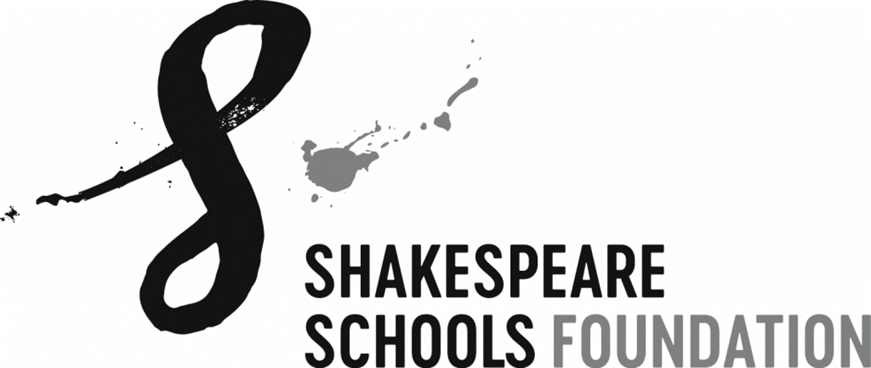 Shakespeare schools foundation logo B&W.png