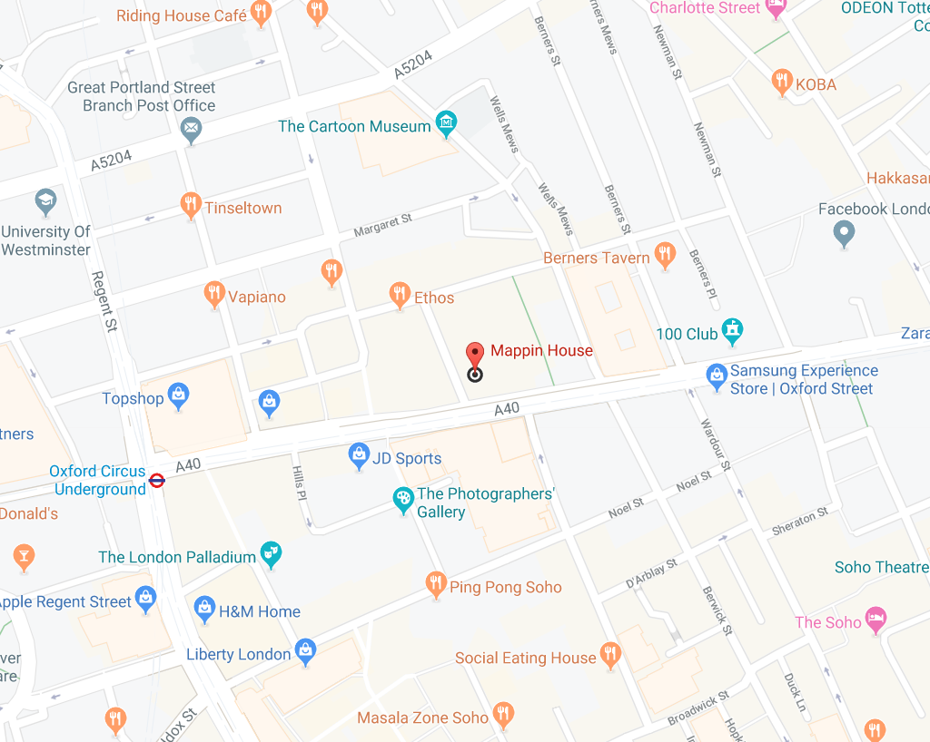 Mappin House map.png