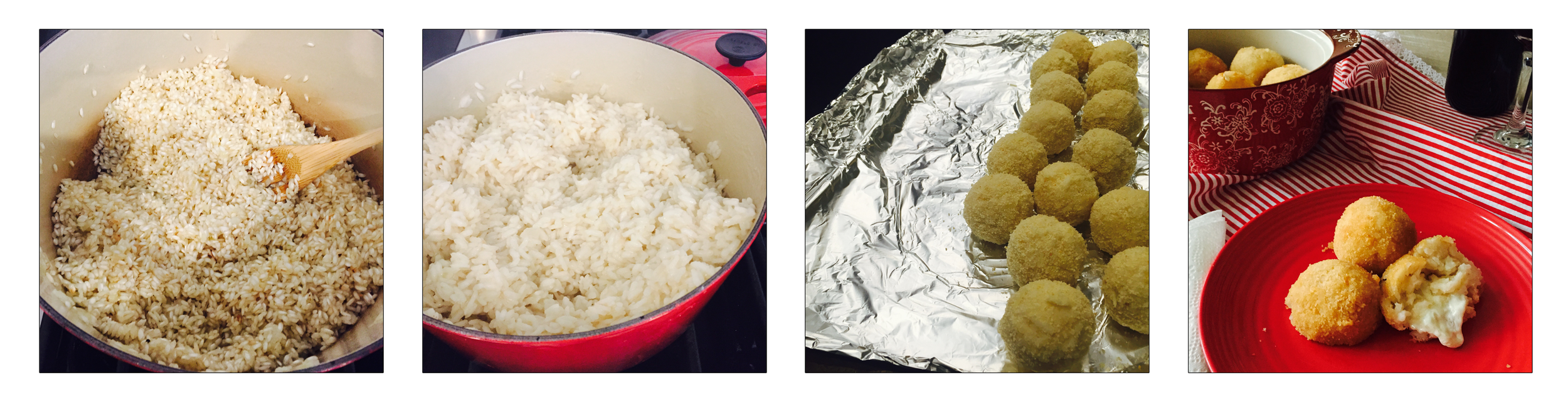 RICE BALLS, STEP BY STEP.