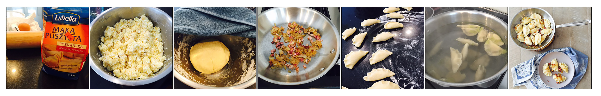 PIEROGIES, STEP BY STEP.