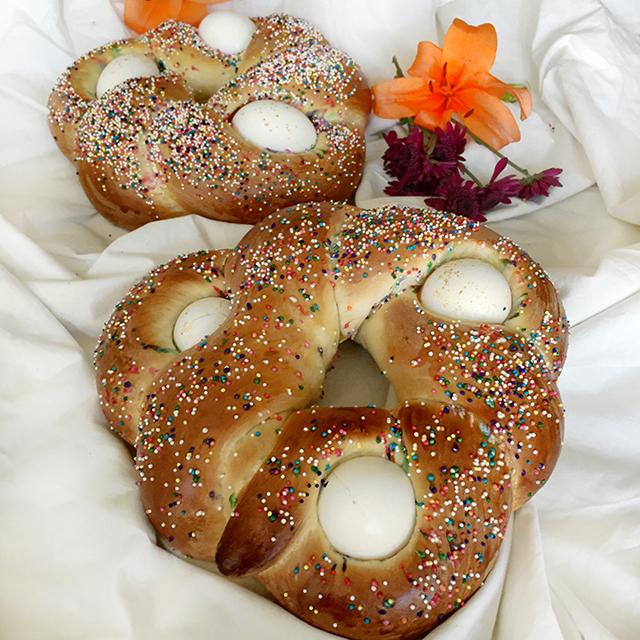 sweet easter bread