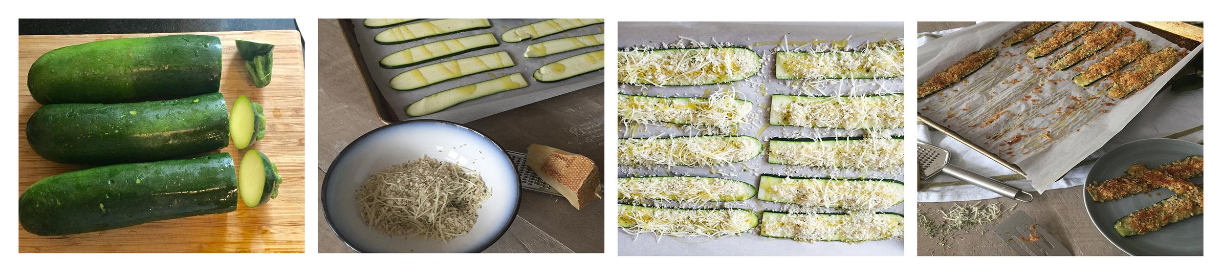 Vegetable Gratin, Step By Step.