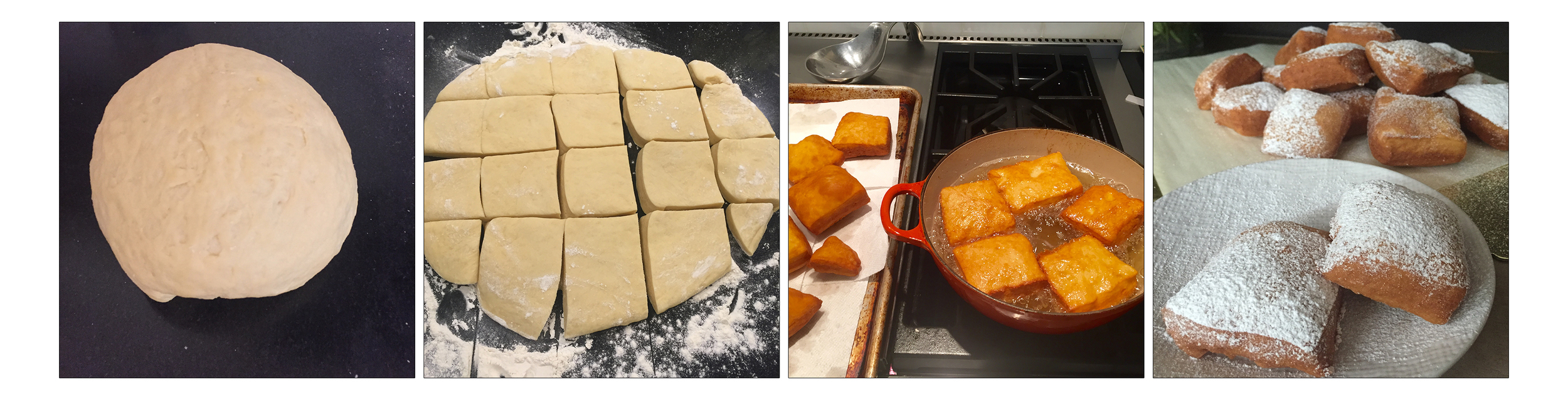 beignets, step by step.