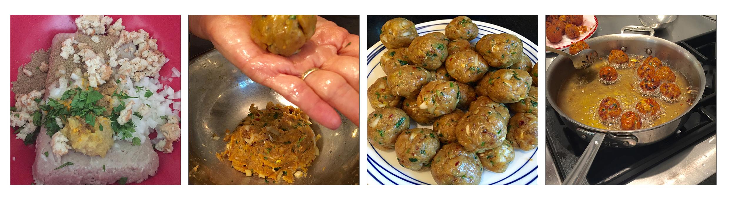 Turket Kebabs, step by step.