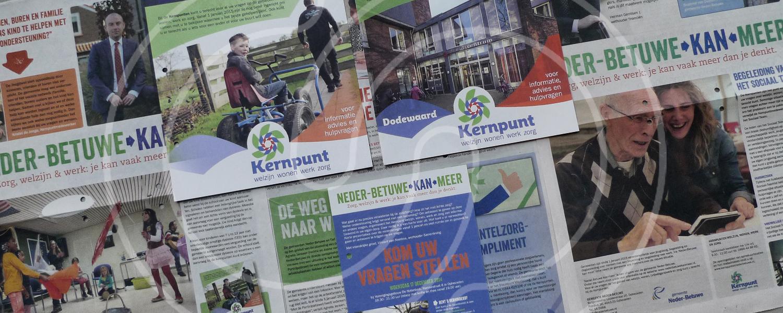 Alle communicatie rond de veranderingen in het sociale domein voor de gemeente Neder-Betuwe