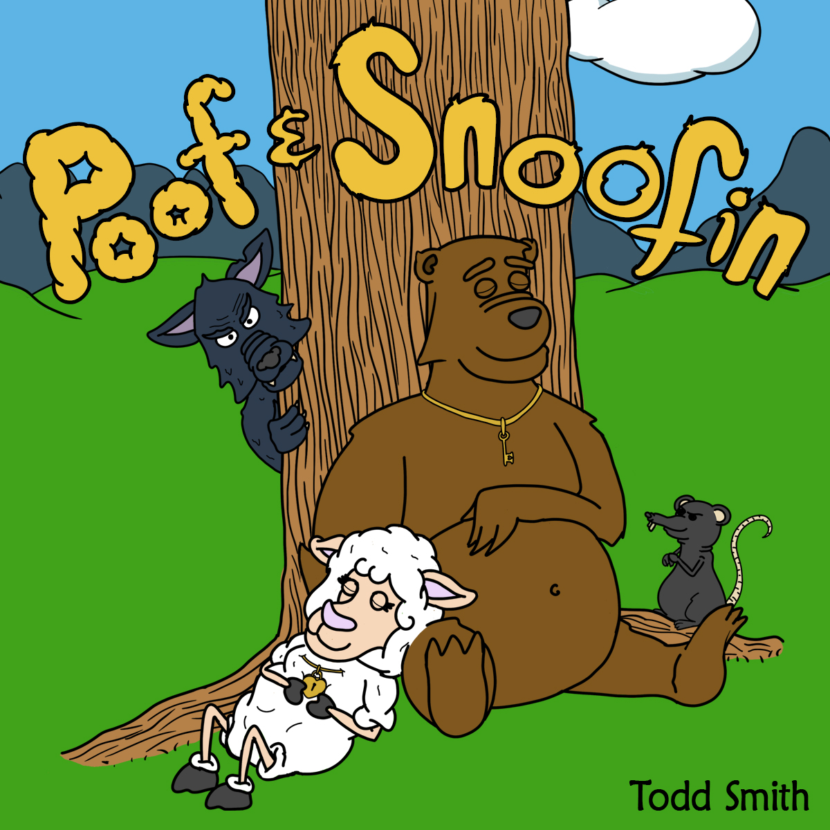Poof and Snoofin is a tale devised by critically acclaimed musician  Todd Smith  to help teach children to be brave and stand up for what they believe in—especially when the ones you love are at stake!
