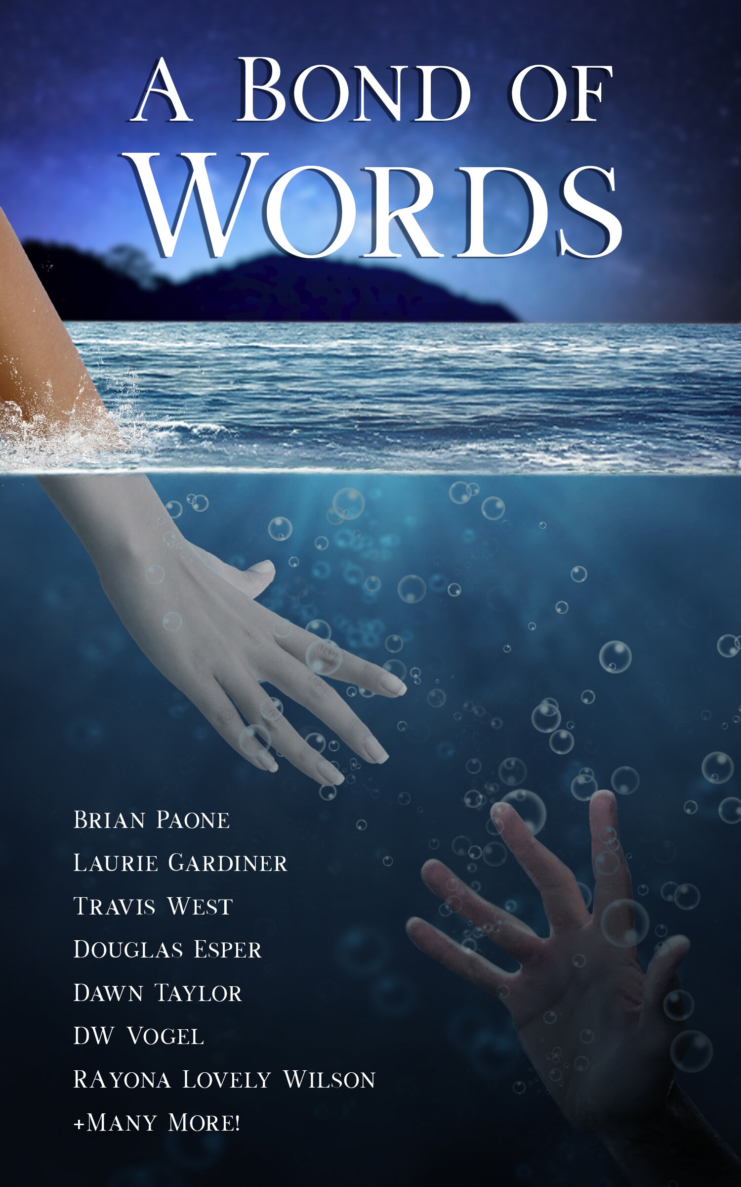 2019's installment,  A Bond of Words,  includes 29 authors who wrote short stories centered around creating or severing a bond with someone or something else.