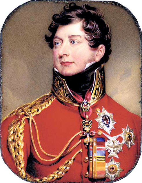 The Prince Regent of England, later George IV