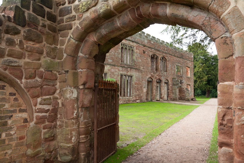 The stables at Astley Castle, Nuneaton, England