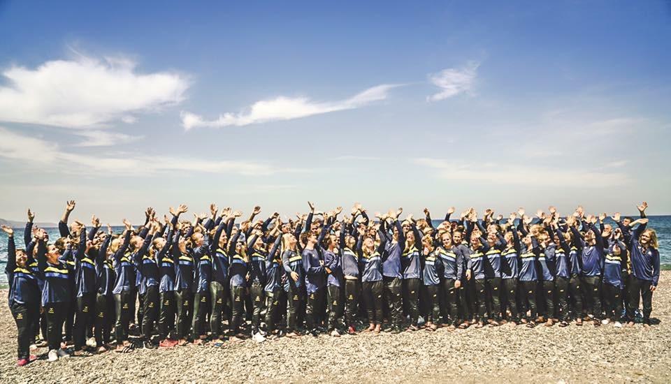 86 atleter var på lägret