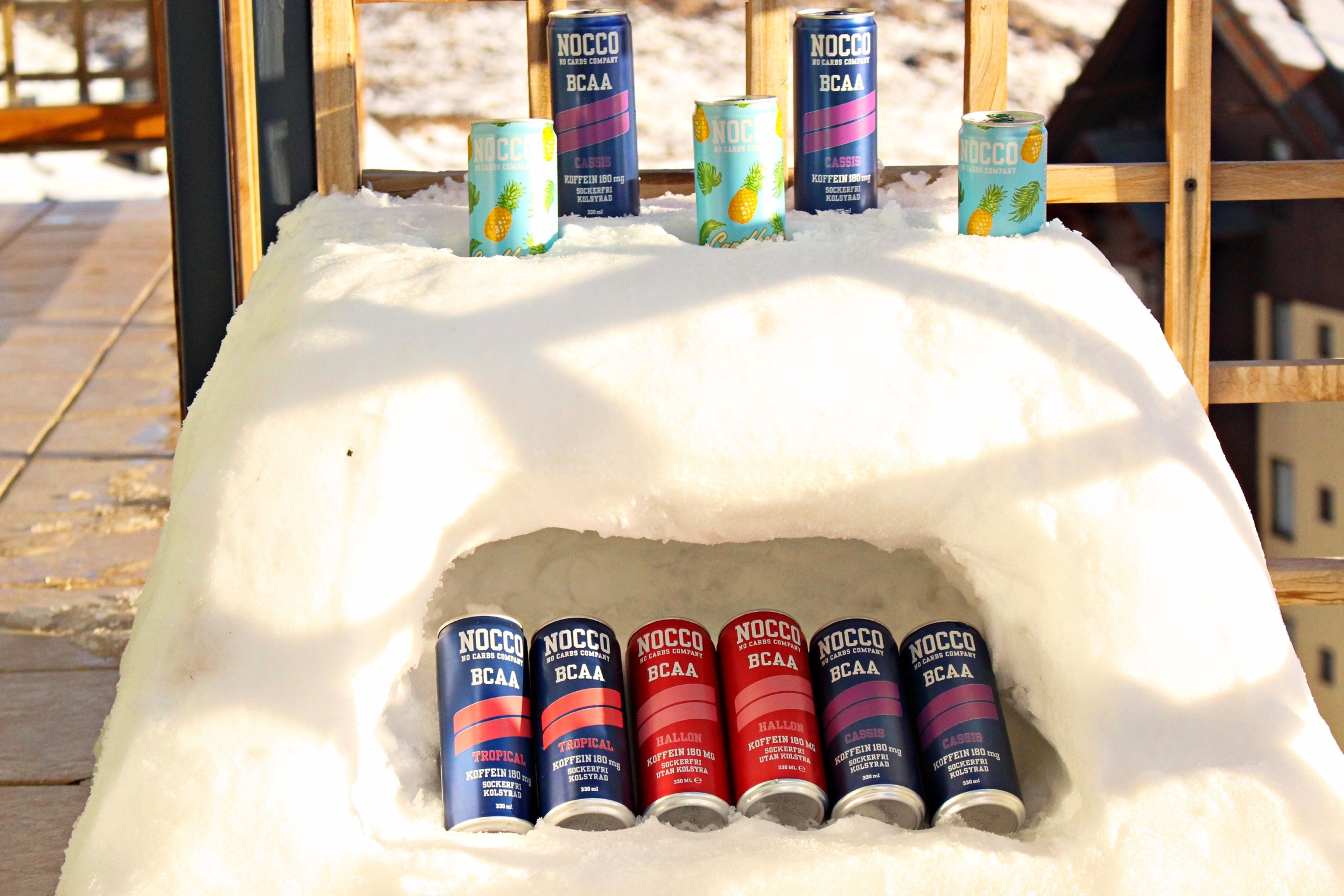 Denna kylen jobbade vi hårt för! En skön förkylning blev kostnaden men nog fan blev den snygg!