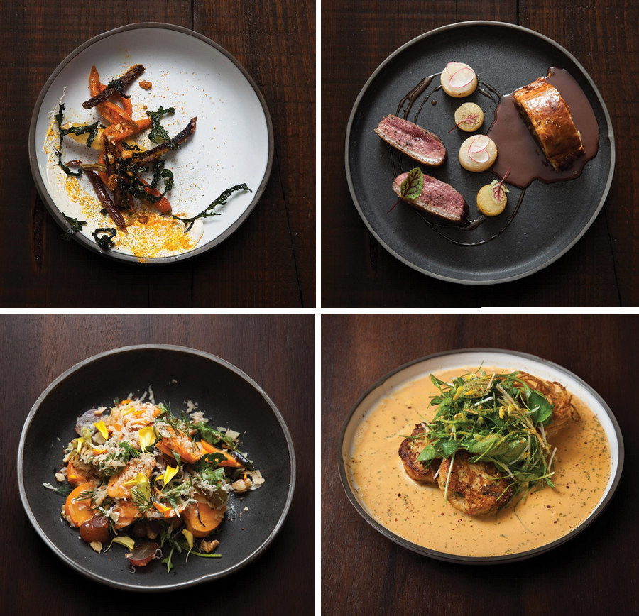 Photos by Rick Poon. Dishes from their 10th Anniversary Dinner Series.