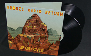 """""""Up, On & Over"""" - Vinyl - $19.99    **Includes 2 bonus tracks not available on CD!**"""