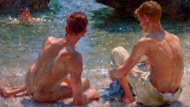 The Critics, by Henry Scott Tuke: our favourite piece at Queer British Art.