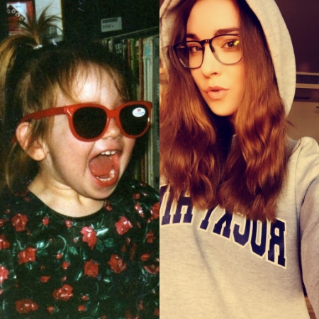 Age 3, Age 20. Not too much has changed.