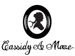 Logo I created for Cassidy A. Maze.
