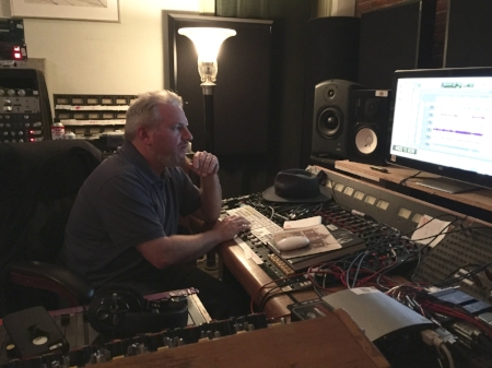 Kenny Siegal in the control room at Old Soul Studios.