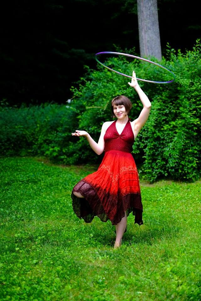 An early incarnation of MamaDala, the Dancing Manifesting Mistress of Hula Hoops