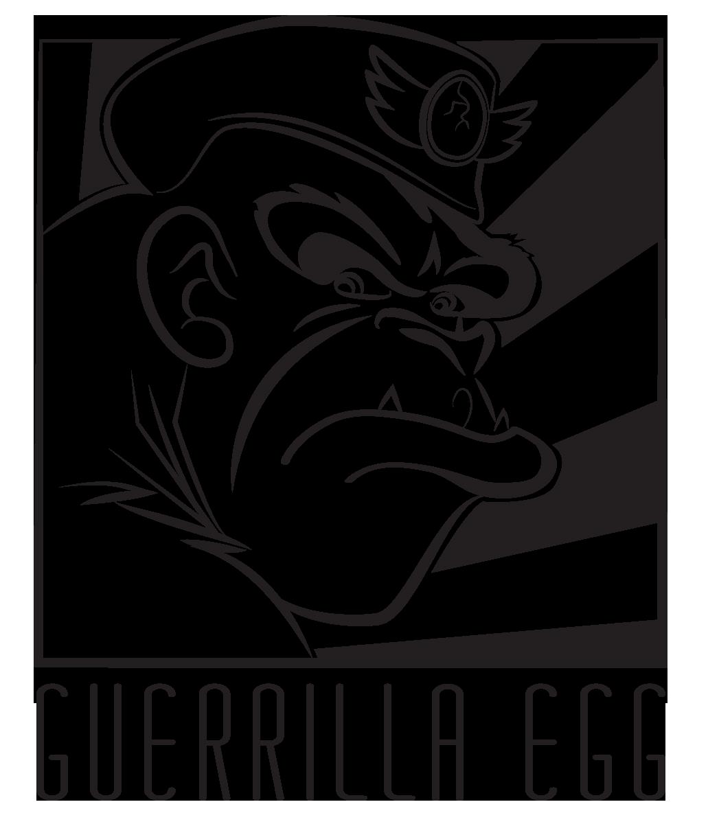 GuerrillaEgg Logo Black.png
