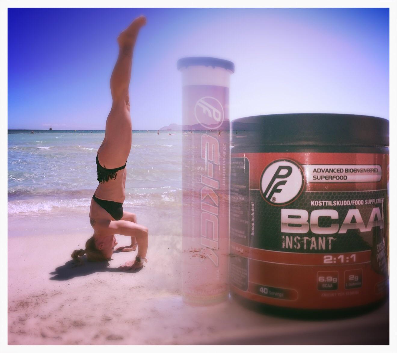 Alltid etter eller under en god økt - BCAA og ekstra energi fra Proteinfabrikken!