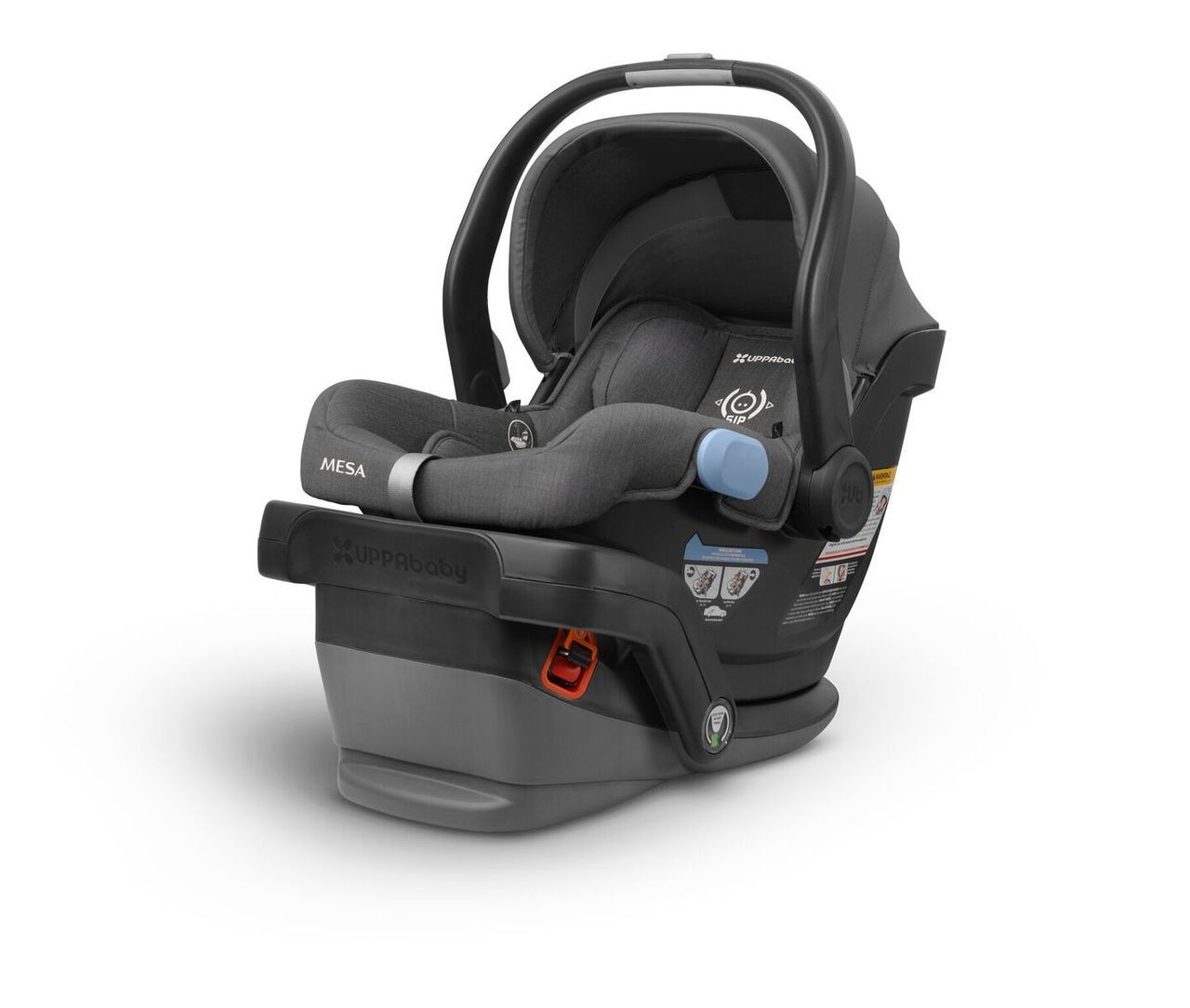 Uppababy Mesa Car Seat (we still use this and it comes with a super easy to install base!)