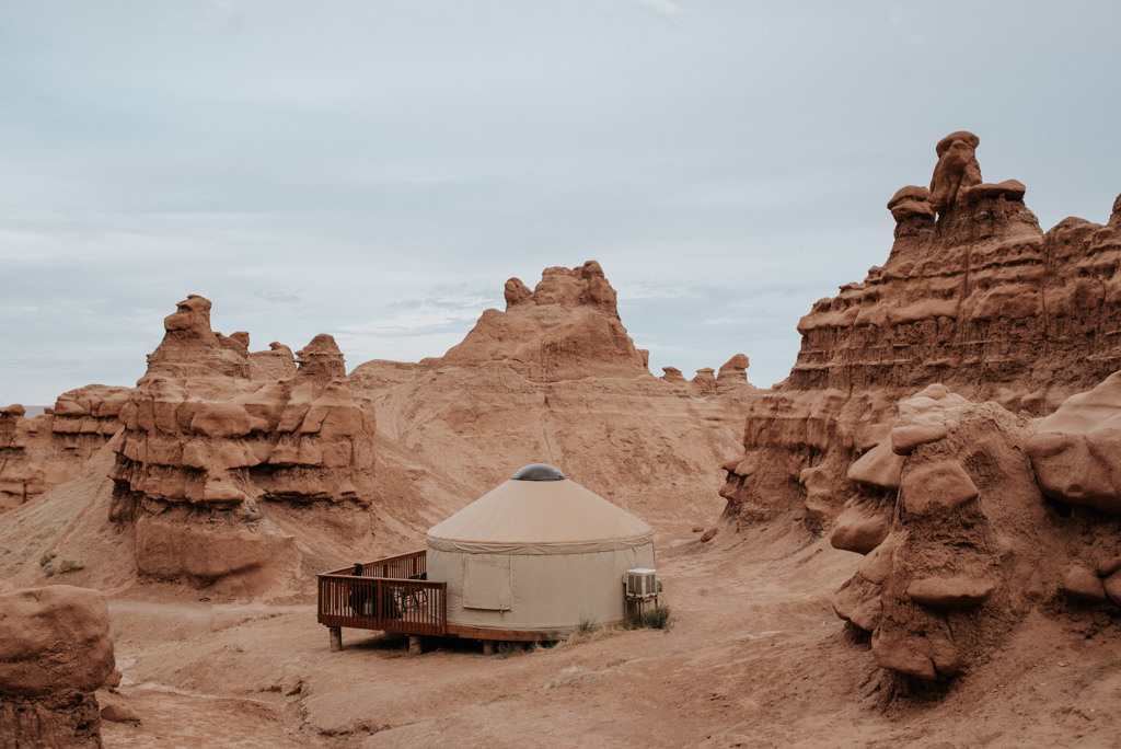 Yurt at Goblin Valley State Park
