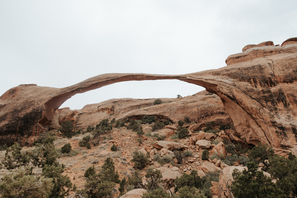 Ladnscape Arch at Arches National Park