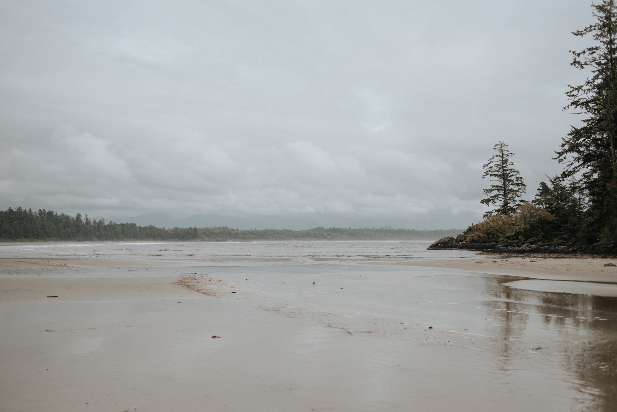 Schooner Cove in Pacific Rim National Park Reserve in Tofino