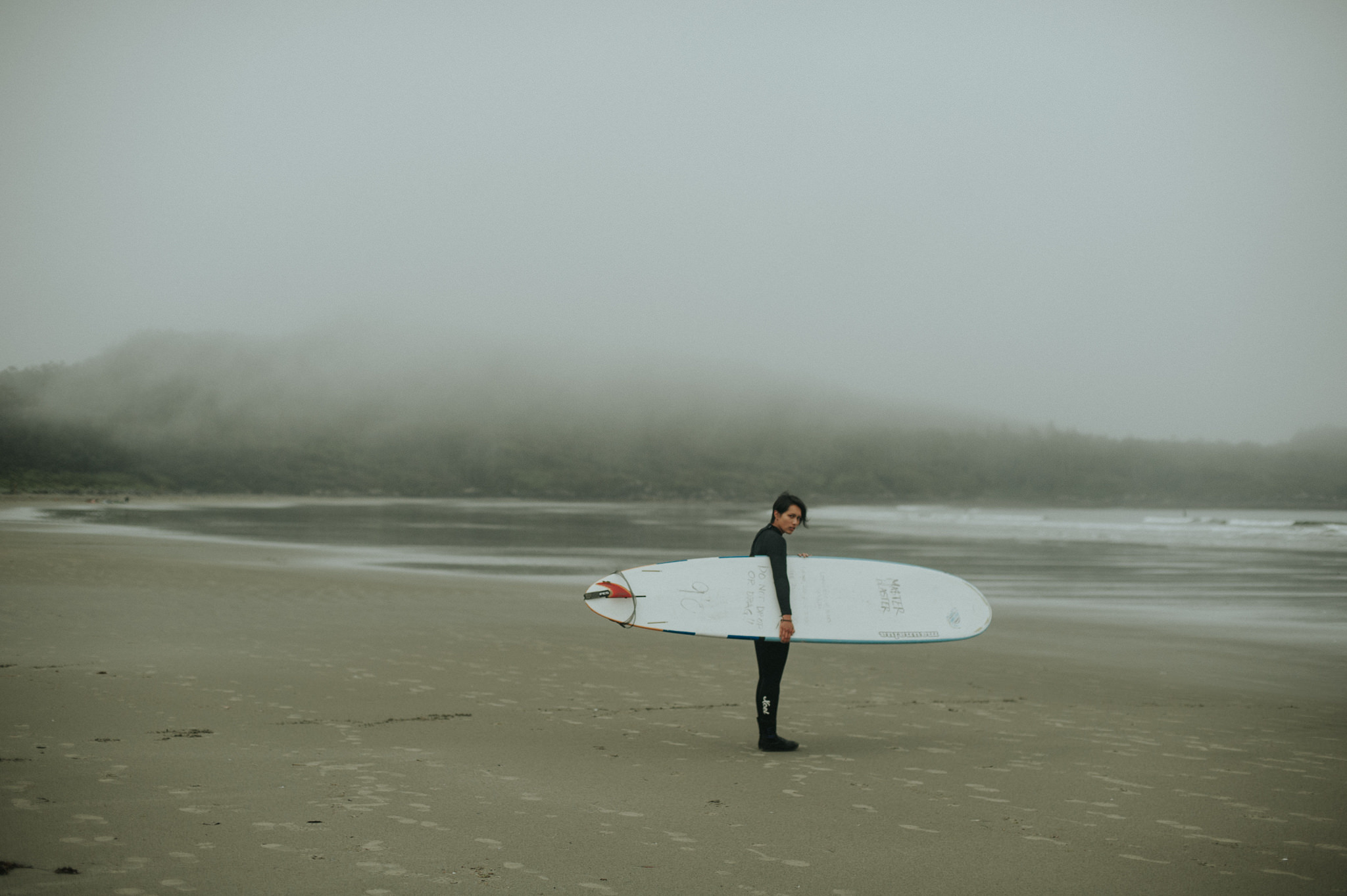 Surfer in Tofino