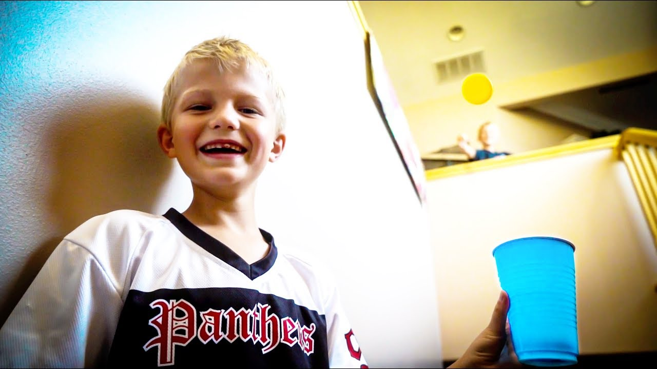 DAVIS BOYS PING PONG TRICK SHOTS - CLICK HERE TO WATCH IT-2 minutes of unbelievable trick shots by the kiddos, which took forever to get on film!