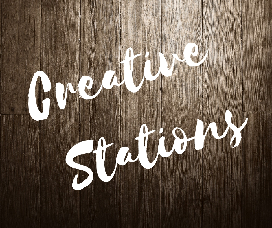 Creative Stations - Kids will work on two individual, take home crafts throughout the week. One of the crafts is an awesome camp t-shirt that they will tie-dye. The other craft is to be announced when registration opens.