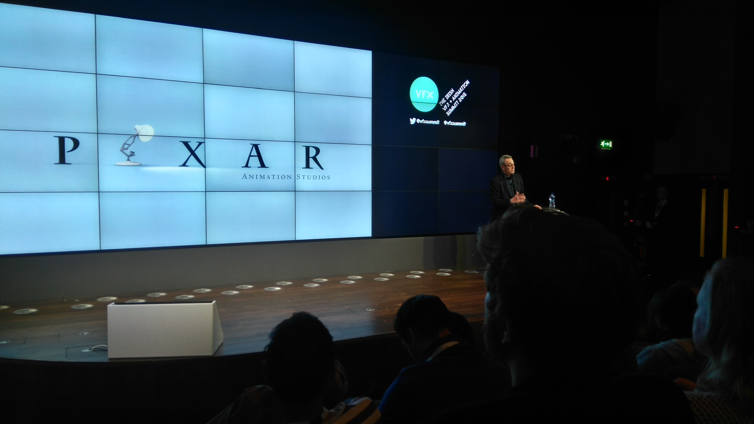 Jim Morris, the president of Pixar, discussing the technological advances that Pixar has made.