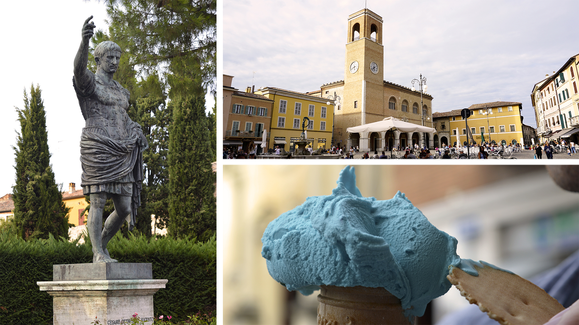 Fano, our local town.