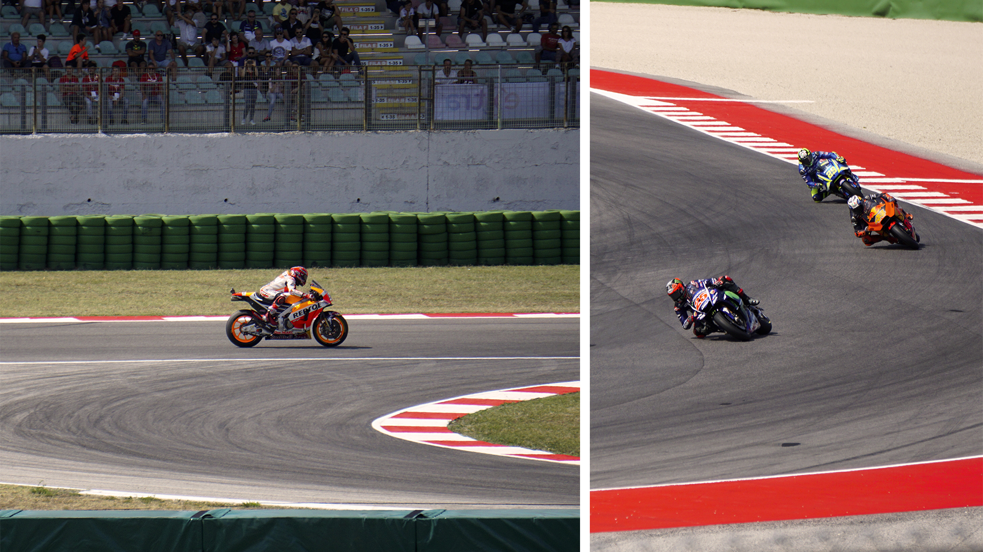 The San Marino MotoGP, which took place at the Misano World Circuit Marco Simoncelli.