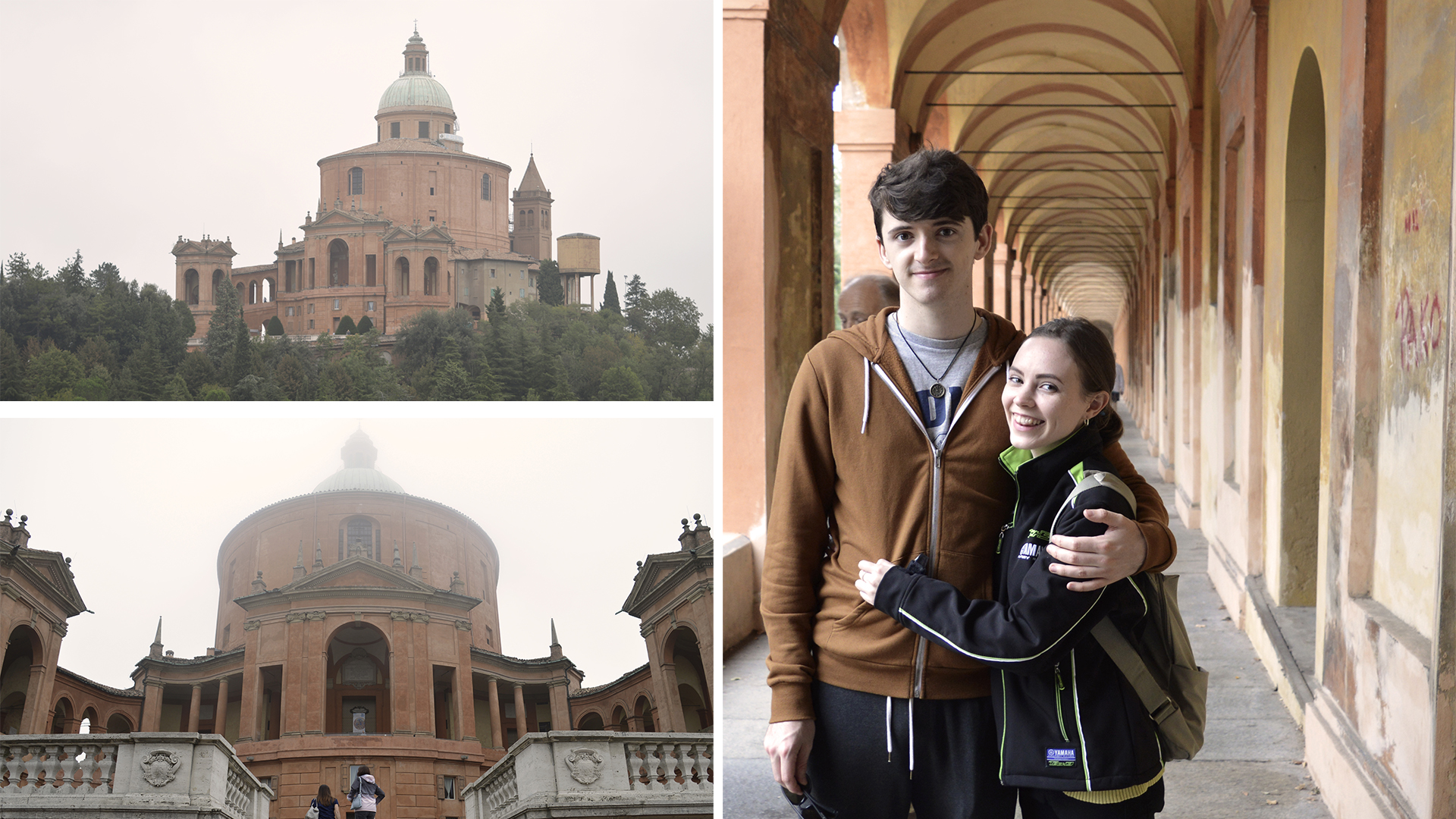 The Sanctuary of Madonna di San Luca - I loved this building, which features the longest portico in the world.