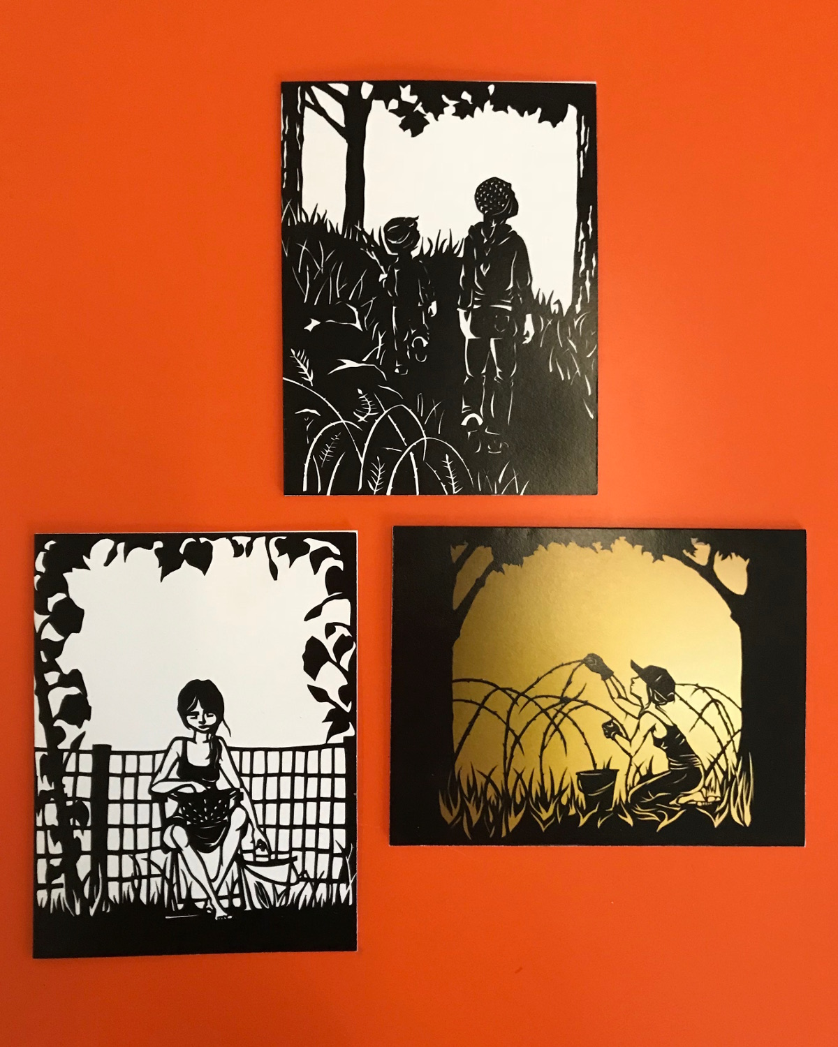 Note Card Set B - Silhouette Collection