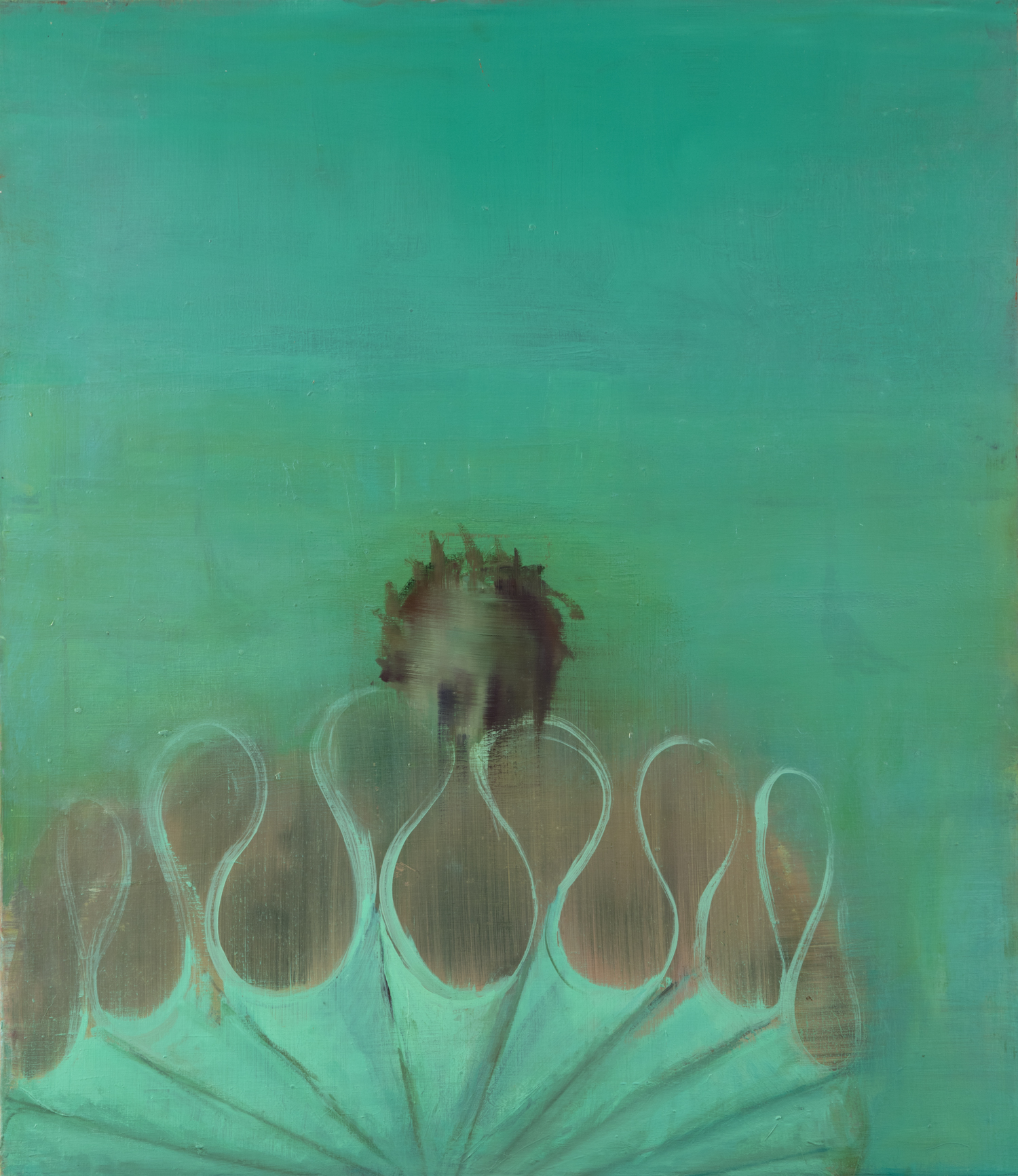 Big Collar- Green on Green, 2015
