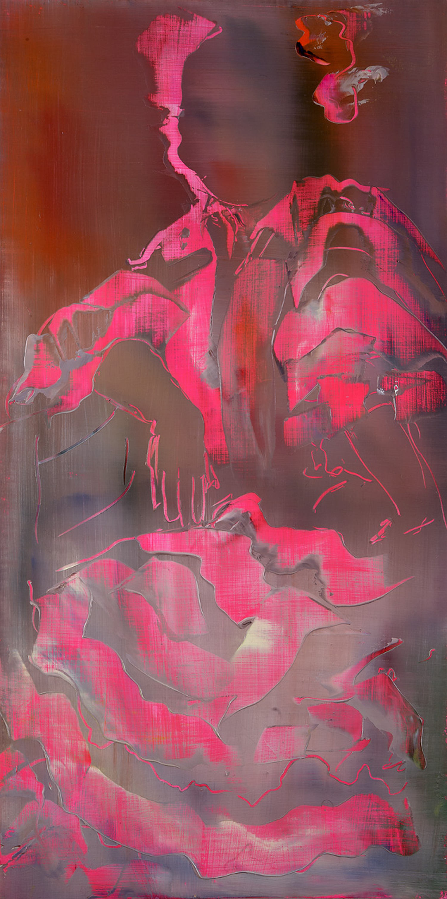 Pink Dress (after Sorolla), 2012