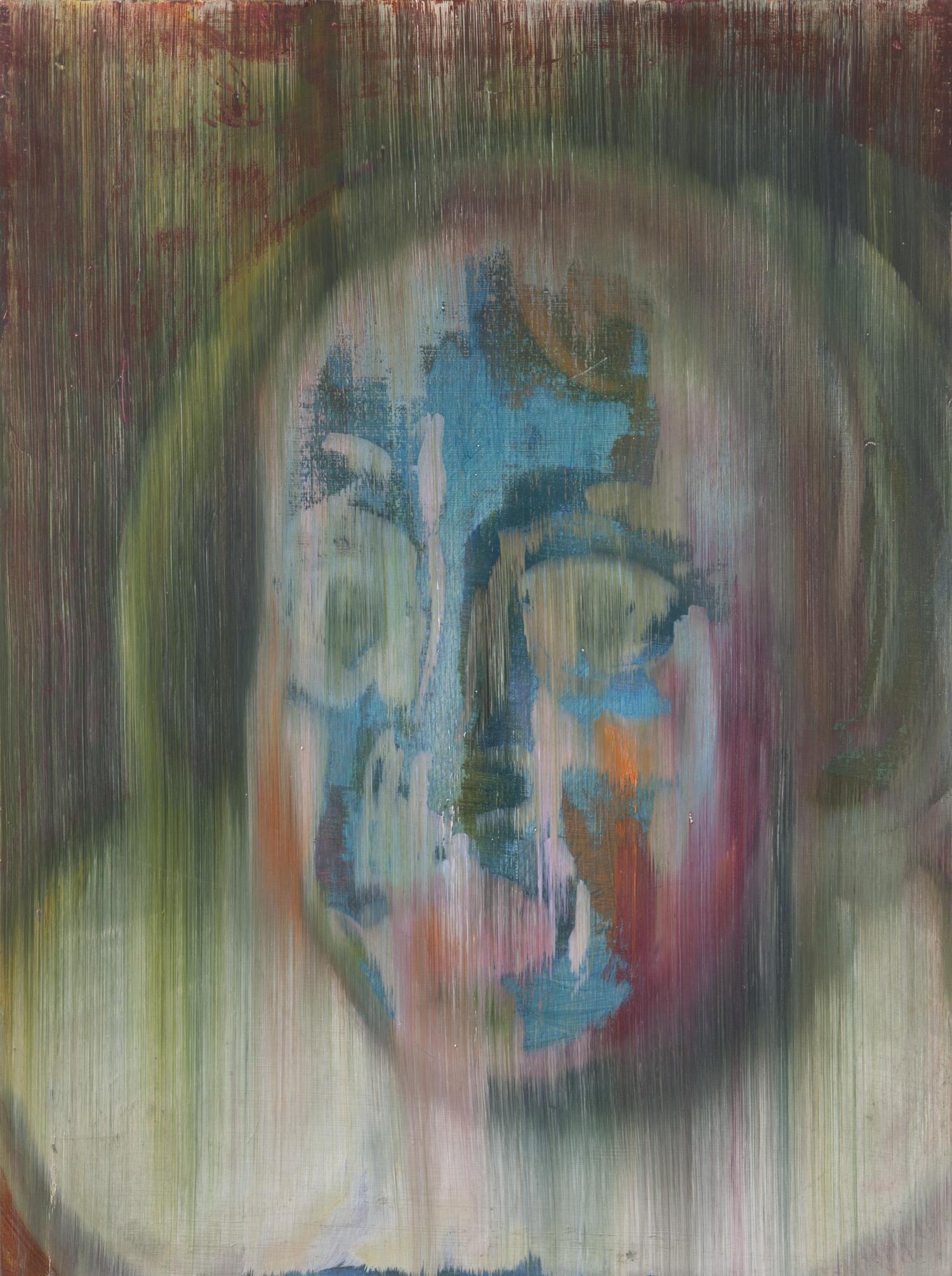 Multi-colored Close-up of Gertrude van Limborch (after Thomas de Keyser), 2013