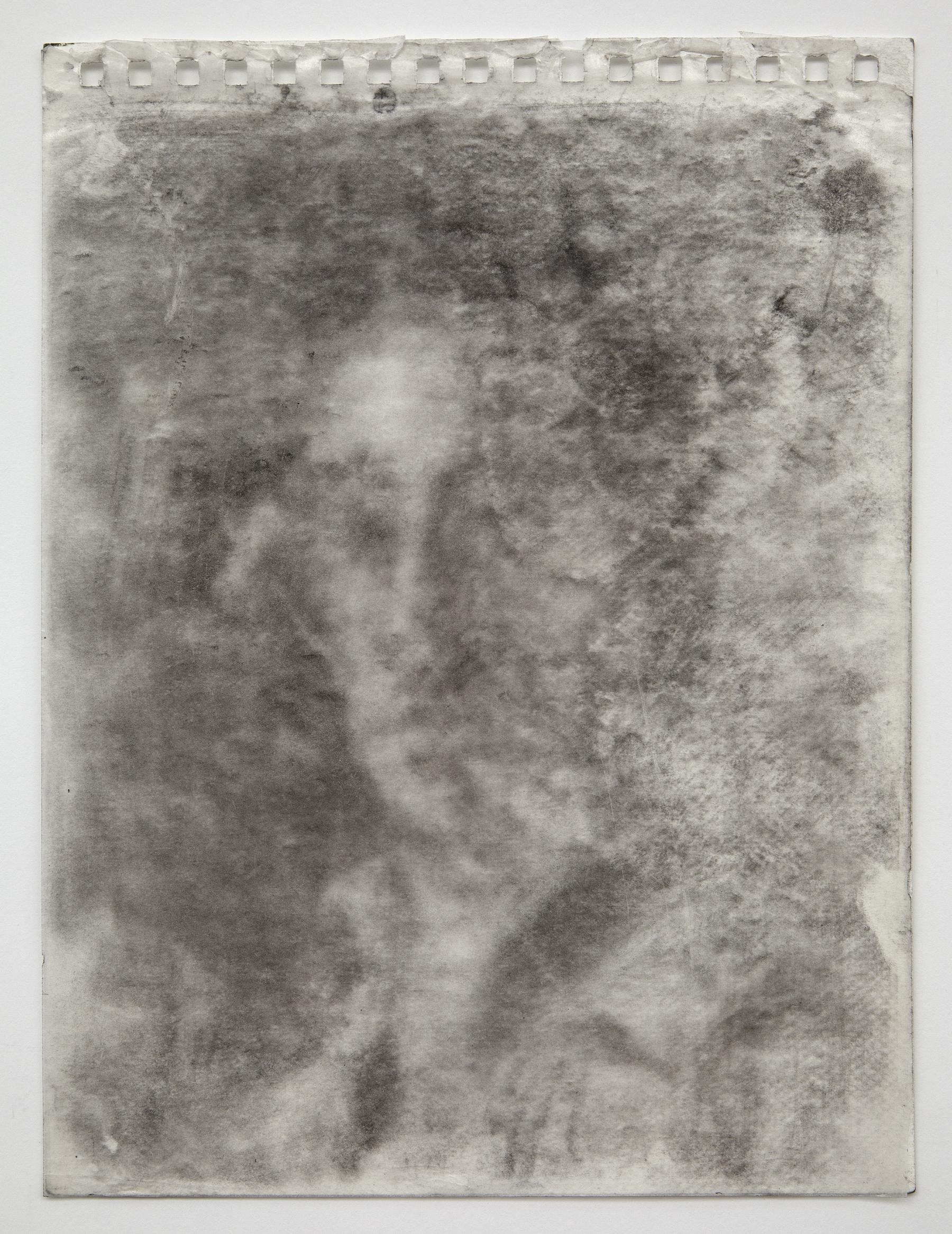 Interleaf Painting (after Degas), 2013